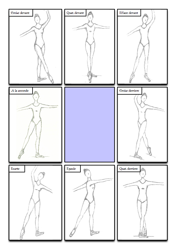 Position Ballet Worksheets Free