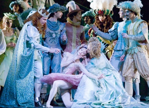 Carabosse's curse as depicted in The Royal Ballet's Sleeping Beauty. Photo:V&A Images © Source: V&A Collections