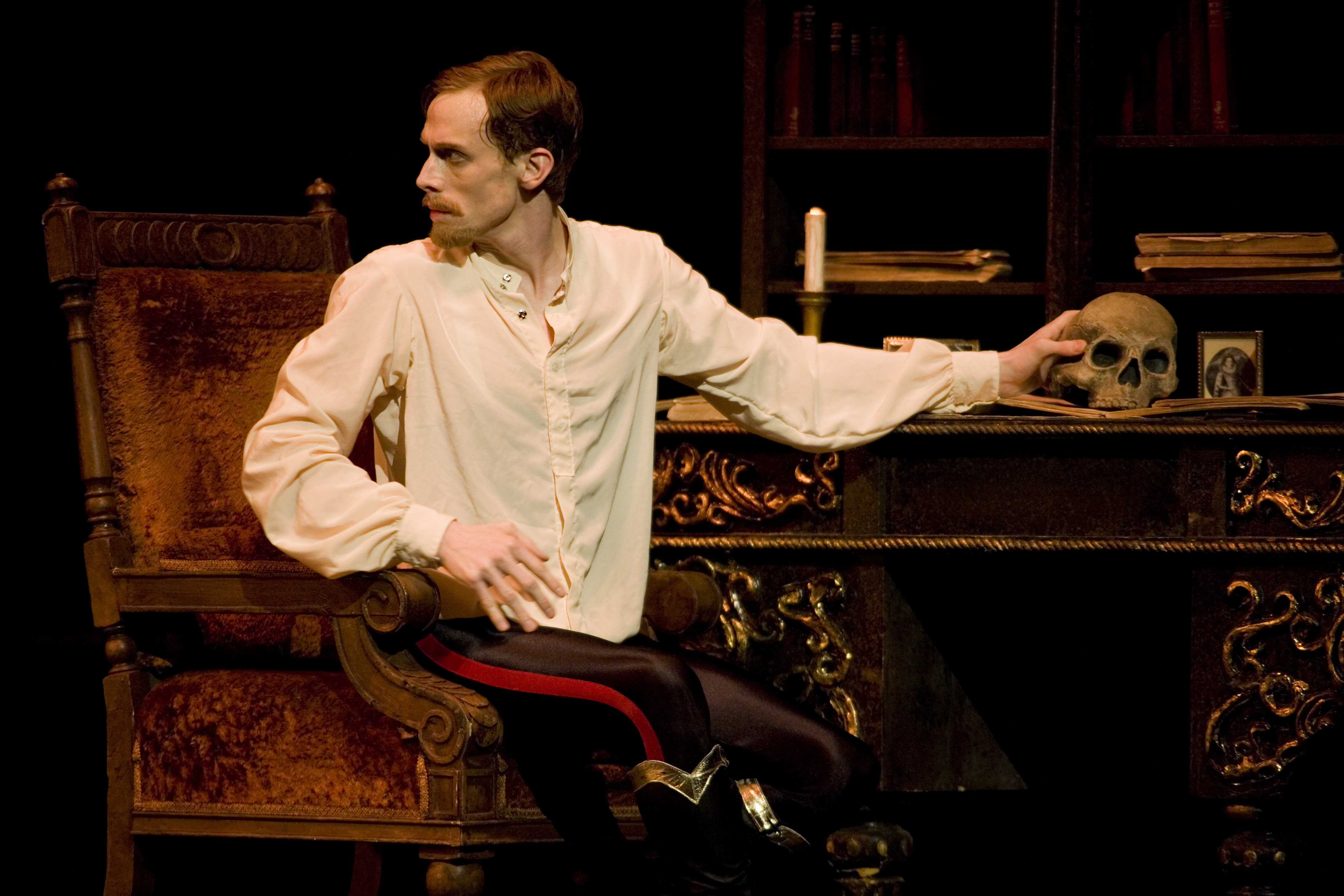 Edward Watson as Crown Prince Rudolf in MacMillan's Mayerling. Photo: Johan Persson / ROH ©