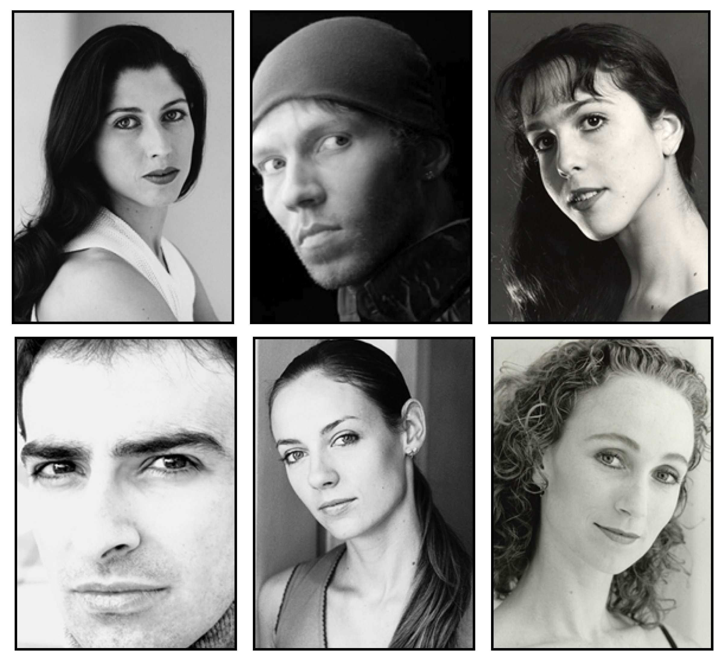 Mayerling Cast. From left clockwise. Leanne Benjamin as Mary Vetsera, Johan Kobborg as Crown Prince Rudolf, Laura Morera as Countess Larisch, Deirdre Chapman as Empress Elizabeth, Helen Crawford as Mitzi Caspar and José Martín as the lead Hungarian Officer. Source: ROH ©. Copyright belongs to its respective owners.