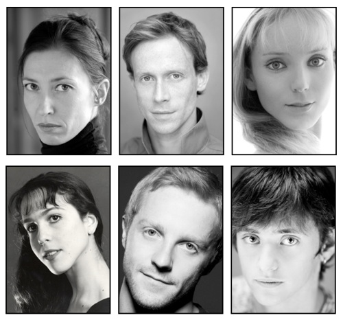 Mayerling Cast, from left clockwise: Mara Galeazzi as Mary Vetsera, Edward Watson as Crown Prince Rudolf, Sarah Lamb as Countess Larisch, Sergei Polunin as Hungarian Officer, Steven McRae as Bratfisch and Laura Morera as Mitzi Caspar.