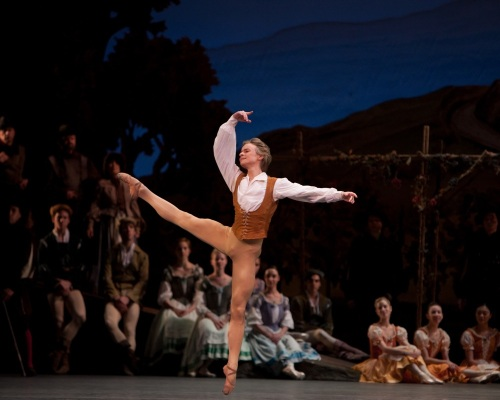 Daniil Simkin in ABT's Giselle.  Photo: Rosalie O'Connor / ABT ©